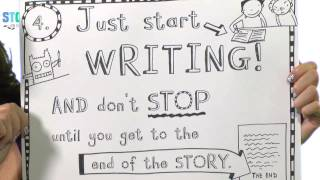 Liz Pichon, How do you write and plan a 'comic' style story?
