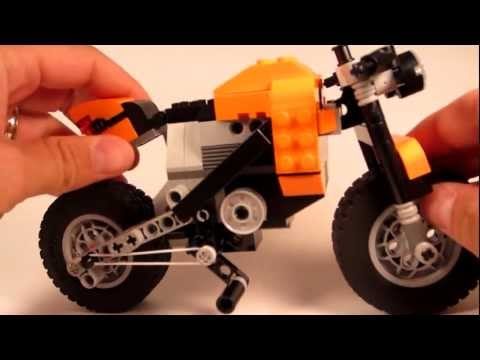 LEGO Set Review Creator Street Rebel 7291 - Motorcycle Technic