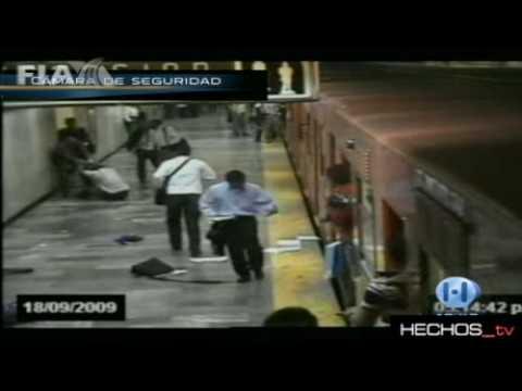 Balacera en el Metro Balderas (Completo)HD -Hechos- 18/09/2009