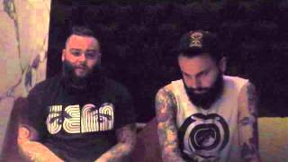 GALLOWS (Wade MacNeil and Lags Barnard) Interview