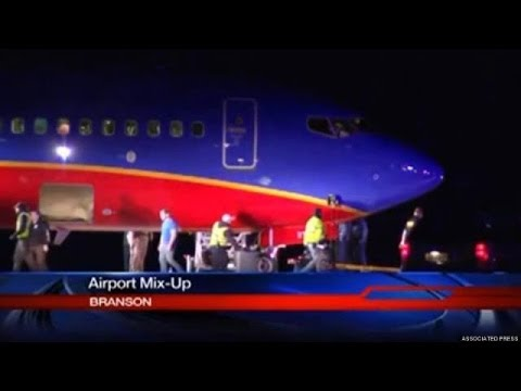 Southwest Flight Lands At Wrong Airport