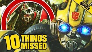 Bumblebee Trailer Breakdown - Easter Eggs & Things Missed