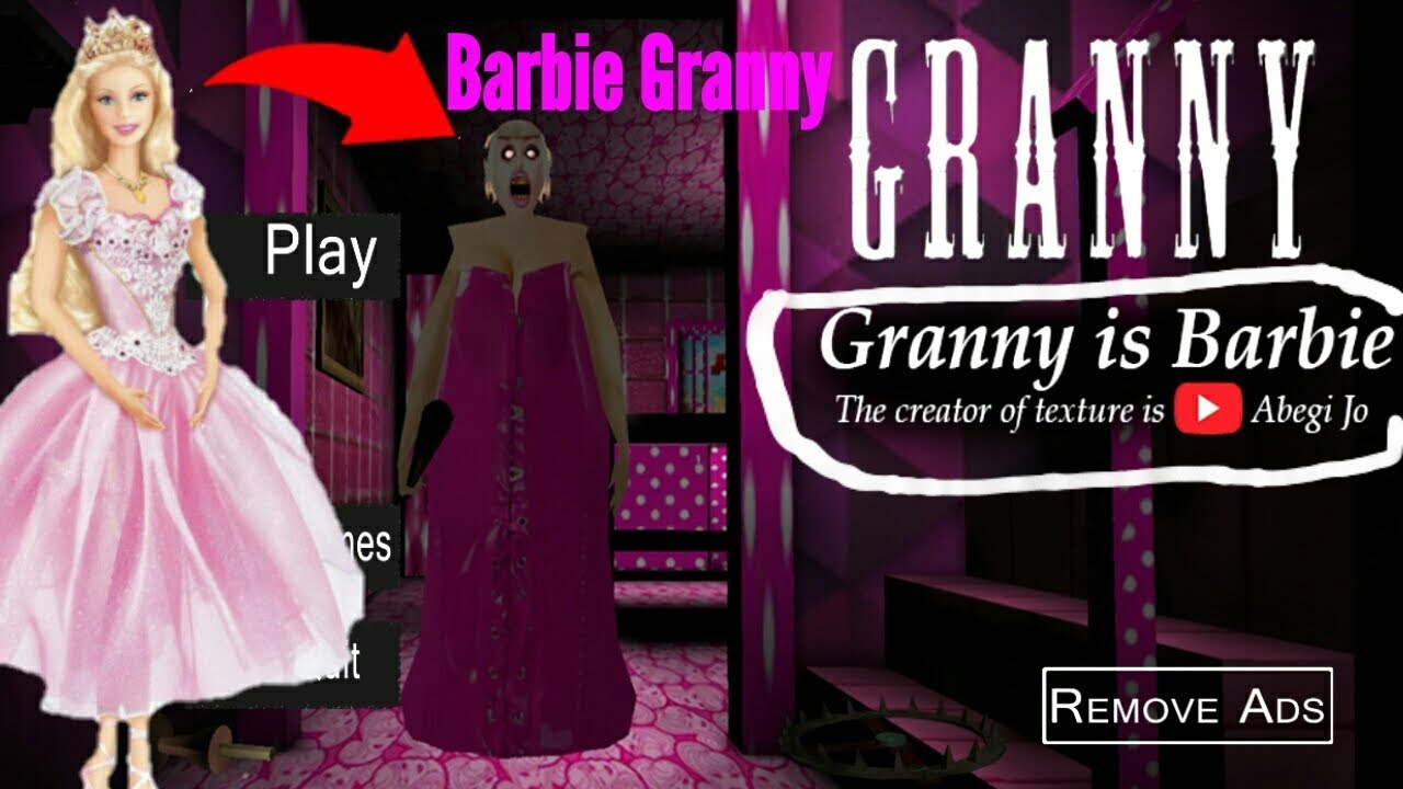 Barbie Granny Full Gameplay