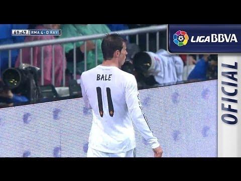 Gol | Great goal de Bale (4-0) tras una gran jugada individual del galés - HD