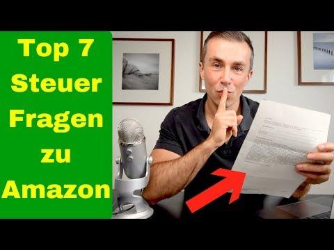 Top 7 Amazon FBA Steuer Fragen beantwortet!