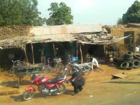 Travel in Mali by bus マリ、バスの旅