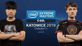 SC2 - soO [Z] vs. Serral [Z] - Quarterfinal - IEM Katowice 2019
