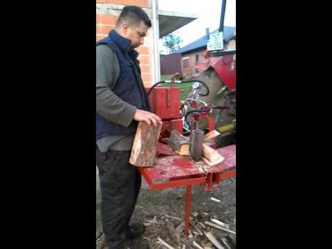 Cepac za drva (Hidraulični)