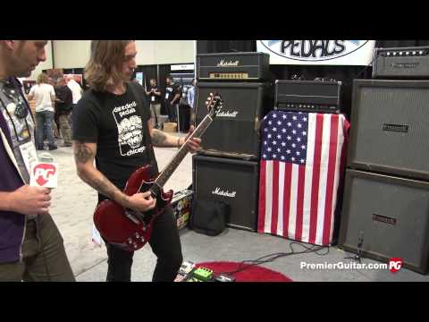 Summer NAMM '14 - Daredevil Pedals Wolf Deluxe and Nova Demos