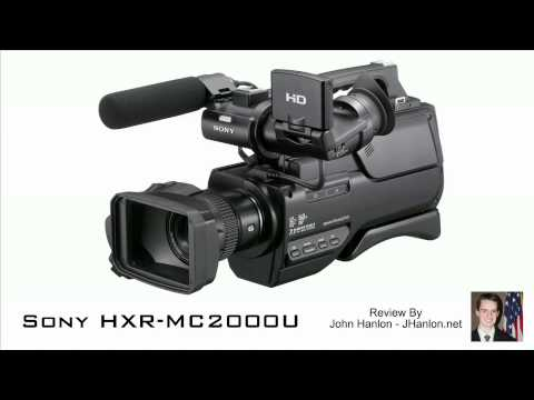 Sony HXR-MC2000 - English Review