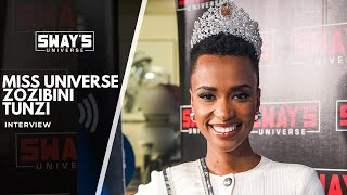 Miss Universe Zozibini Tunzi Talks About What It Means For Girls to Be Leaders | SWAY'S UNIVERSE
