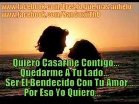 Volvi a nacer (Quiero casarme contigo) J Alvarez and Carlos Vives (Letra) - YouTube