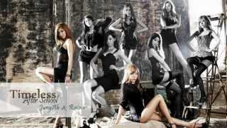 After School (Jung Ah & Raina) - Timeless ~ lyrics on screen (KOR/ROM/ENG)