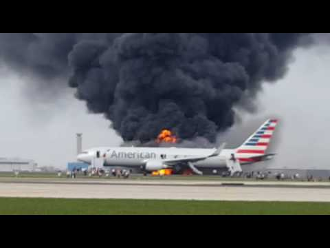 American airlines crash in water