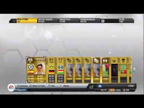 FIFA 13 Pack Opening Best Packs So Far Ultimate Team
