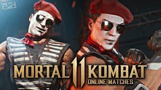 Mortal Kombat 11 Online - EXCLUSIVE Ninja Mime Johnny Cage Skin!!