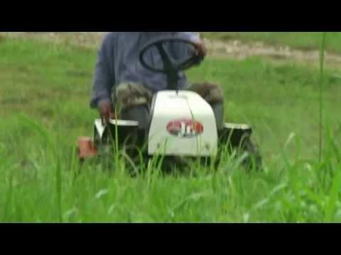 รถตัดหญ้านั่งขับ  (25/10/55)