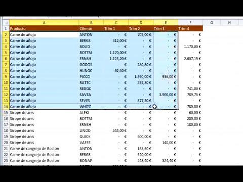 Curso Gratuito de Microsoft Excel 2010 Nivel Básico - Módulo 03 - Parte 01.