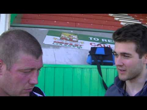 Paul March talking after Keighley Cougars loss to Batley Bulldogs 19th May 2013