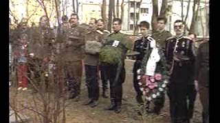 Храм Всех Святых на Соколе.Корниловцы.Панихида.