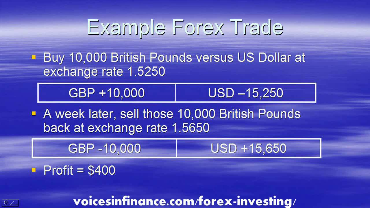 Forex investing beginners