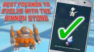 Sinnoh Stone: Best Pokemon To Evolve In Pokemon Go!