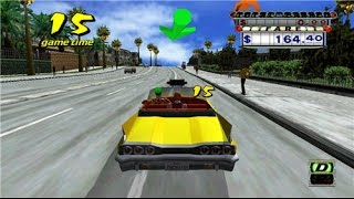 Crazy taxi gameplay (feeling nostalgic)