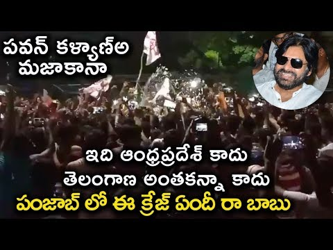 Pawankalyan Birthday Celebrations In Punjab | LPU University | Filmy Monk