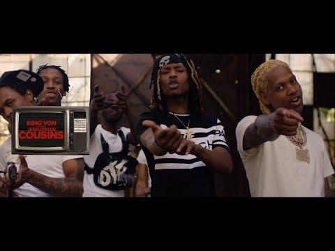King Von - Cousins ft. JusBlow600 (Official Music Video)