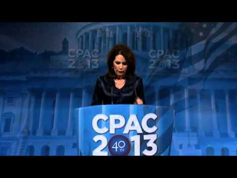 CPAC 2013 - U.S. Representative Michele Bachmann (R-MN)