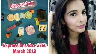 Expressions Box March 2018  @350 | Unboxing & Review | Discount Code | GIVEAWAY OPEN |