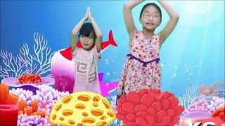 | VIRAL BABY SHARK SONG N DANCE || KIDS FAVORITE ANIMAL NURSERY RHYMES || NEW 2019 || KEEDs GOORU ||