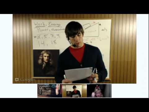 2012 Regents Physics Review - Work, Energy, Power, Momentum