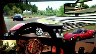 AC - Nordschleife - Alfa Romeo 33 Stradale - online track day