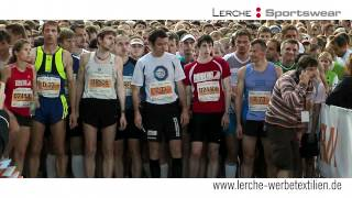 Lerche Hersteller bedruckte Laufshirts Sponsor bei der deutschen Firmenlauf-Meisterschaft