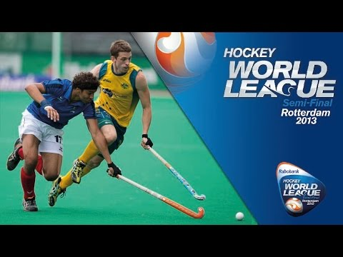Australia vs France Men's Hockey World League Rotterdam Pool A [17/6/13]