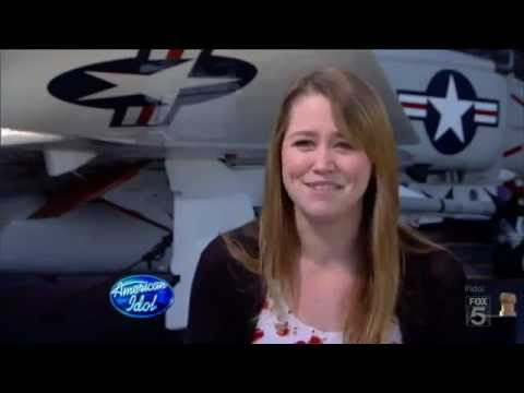 Something To Talk About - Jane Carrey on American Idol (Jim Carrey's daughter)