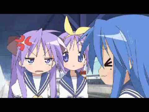 こなたさんのグルメレース Gourmet Konata Race [Lucky Star] Music Videos