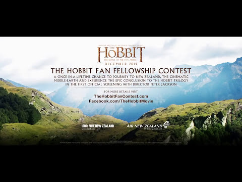 The Hobbit: The Battle of the Five Armies VIRAL VIDEO - Fan Fellowship Contest (2014) HD