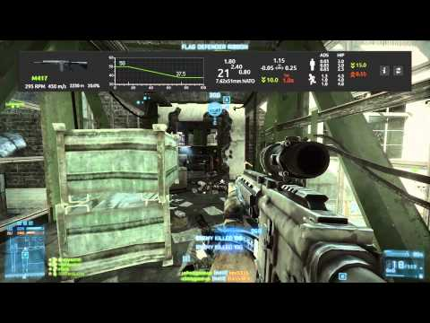 Battlefield 3 Weapon Review: M417, The Best Semi-Auto Sniper Rifle