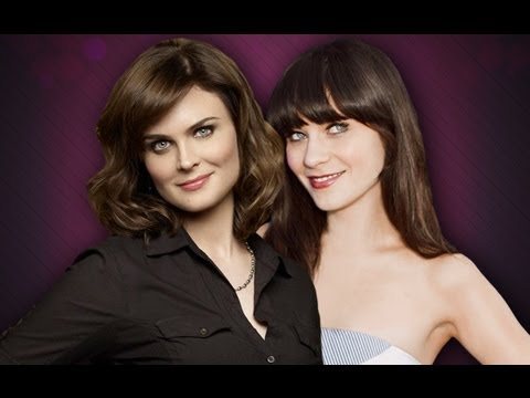 Deschanel Sisters on Bones Bones Star Emily Deschanel