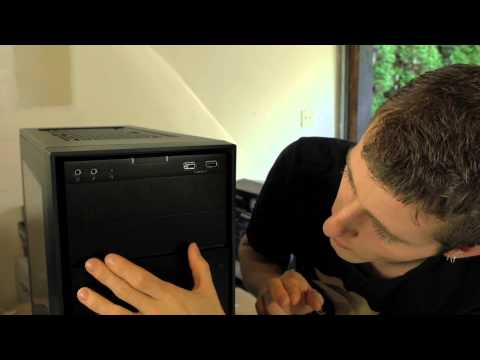 Corsair Obsidian 350D mATX Gaming Case Unboxing & Overview