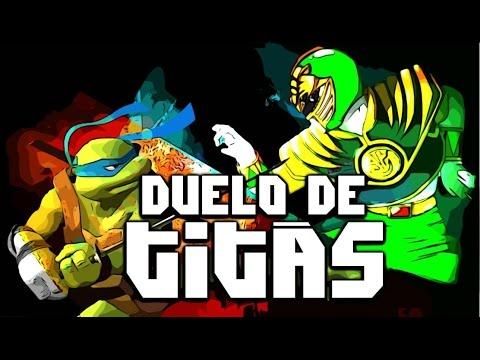 Tartarugas Ninja VS. Power Rangers | Duelo de Titãs