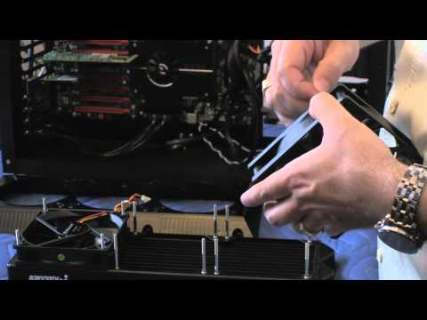 Water Cooling Your Computer - Part 8 - Installing the Radiator - Part 1 of 2