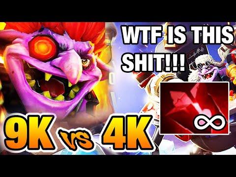 😂9k vs 4k KILL ME PLEASE!!! - Miracle [Timbersaw] Dota2 7.02