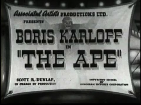 The Ape (1940) [Horror] [Action]