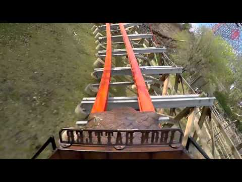 Iron Rattler Front Row POV GoPro HD 60fps #1