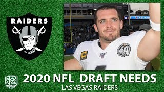 Las Vegas Raiders Draft and Free Agency Needs: Is Derek Carr the future at QB? | CBS Sports HQ