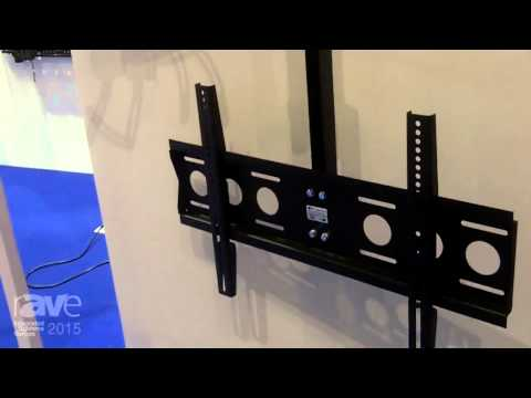 ISE 2015: edbak Describes Their Seating Mount, Projector Mount and Tablet Stand