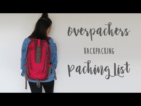 Backpacking Packing List for 4 Months in Europe | Rylie Lane